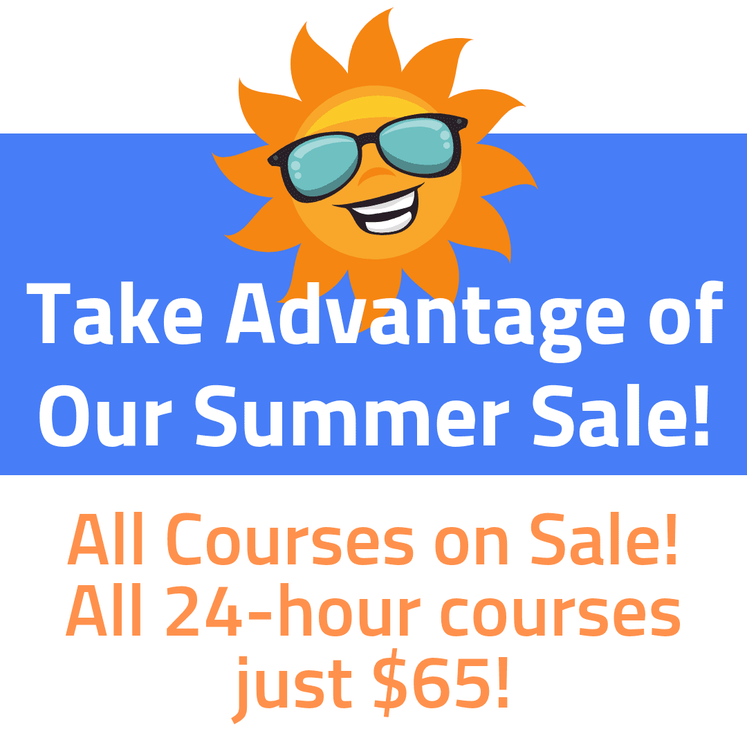 Take advantage of our summer sale!